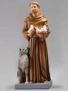 Indoor/Outdoor Statue: St Francis 30cm