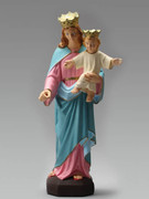 Indoor/Outdoor Statue: Our Lady Help Christians 30cm