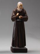 Indoor/Outdoor Statue: Padre Pio 30cm