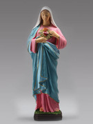Indoor/Outdoor Statue: Sacred Heart Mary 60cm