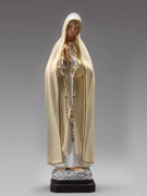 Indoor/Outdoor Statue: O L Fatima 40cm