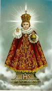 TJP Holy Card: Infant of Prague