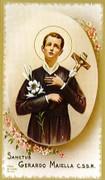 TJP Holy Card: St Gerard: Prayer for Motherhood