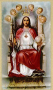 TJP Holy Card: Christ the King #2