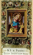 TJP Holy Card: Our Lady Pompei: Mysteries