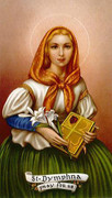TJP Holy Card: St Dymphna