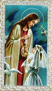 TJP Holy Card: First Communion Girl #4