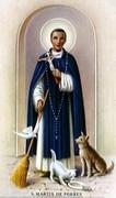 TJP Holy Card: St Martin de Porres