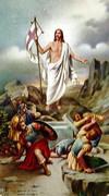 TJP Holy Card: Risen Christ: Regina Coeli
