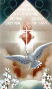 TJP Holy Card: Holy Spirit &amp; SHJ: Vocation Prayer #2
