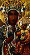 TJP Holy Card: Our Lady of Czestochowa (Polish)