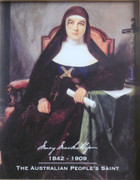 Print (10x8in): St Mary MacKillop with dates