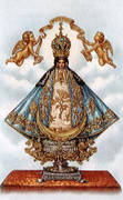 TJP Holy Card: Our Lady of San Juan #2