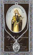 Pewter Medal: St Catherine
