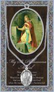 Pewter Medal: St Philomena