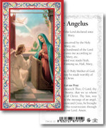 Laminated Holy Cards: 700 SERIES: The Angelus (Angel Gabriel)