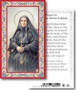 Holy Card: 700 SERIES: St Frances Xavier Cabrini each