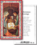 Holy Cards: 700 SERIES: Christmas Blessing pk100
