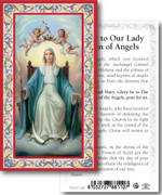 Holy Card: 700 SERIES: Our Lady Queen Angels each