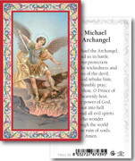 Laminated Holy Card: 700 SERIES: St Michael Archangel 