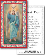 Laminated Holy Card: 700 SERIES: St Gabriel Archangel