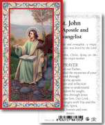 Laminated Holy Card: 700 SERIES:St John