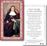 Laminated Holy Card: 700 SERIES: St Mary MacKillop
