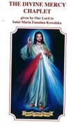 Leaflet Card: Chaplet and Novena Divine Mercy