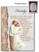 FAMILY RESIN PLAQUE (PL285FA)