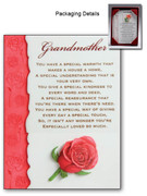GRANDMOTHER RESIN PLAQUE (PL285GM)