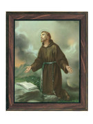 WOOD FRAME 10x8 - ST FRANCIS