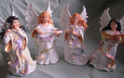 Sandra Kuck Angel Tree Ornaments: SET 4,14cm