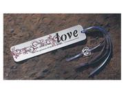 Metal Bookmark: LOVE