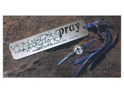 Metal Bookmark: PRAY (N28073P)