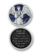 Glitter Coin: Angel of Comfort