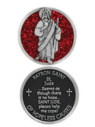 Glitter Coin: St Jude