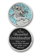 Glitter Coin: Granddaughter