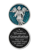 Glitter Coin: Grandfather