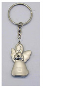Keyring: Angel with Diamente: Black