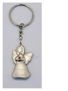 Keyring: Angel with Diamente: Red