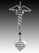 Rearview Mirror Ornament: Medical