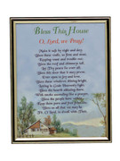 GOLD FRAME - BLESS THIS HOUSE