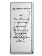 Message Mirror Plaque: Serenity Prayer