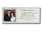 Message Mirror Frame: 25th Anniversary