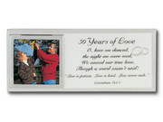 Message Mirror Frame: 50th Anniversary