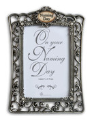 "Filigree Frame: Naming Day (6"" x 4"")"