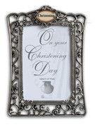"Filigree Frame: Christening Day (6"" x 4"")"