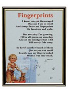 GOLD FRAME - FINGERPRINT