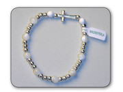Precious Stone Bracelet: Mother of Pearl (RB5222MA)