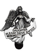 Visor Clip: Guardian Angel &amp; Daughter